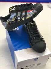 check out ed85f e09e7 adidas Superstar 80s W Rita Ora O-ray Black Womens Classic Casual Shoes  B26727 UK