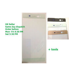 Sony Xperia Xa Ultra C6 LCD Pantalla Táctil de Cristal Exterior Frontal F3211 F3212 Blanco OEM