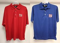 New York Giants NFL Team Apparel Blue or Red Men's Polo Golf Shirt