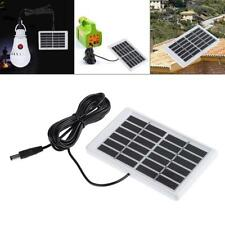 3mDIY 6V 1.2W Solar Panel Polycrystalline Interface DC Plug Cell Battery Charger