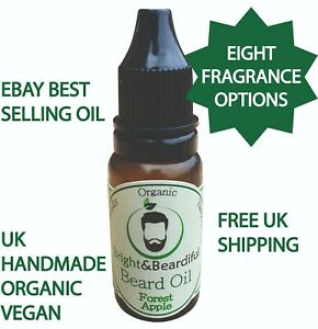 Oil for Beard & Facial Hair Conditioning & Growth, Thicker, Softer Beard 15ml