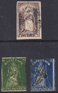 """VICTORIA - """"QUEEN ON THE THRONE"""" FULL USED SET (2 SCANS) HCV"""