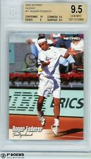 Roger Federer RC BGS 9.5: 2003 NetPro Beckett Graded Rookie Card