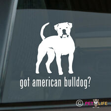 Got American Bulldog Sticker Die Cut Vinyl - bully