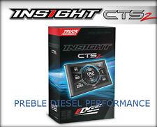 Edge Insight CTS2 Monitor 2001-2018 GMC Sierra 6.6L Duramax Diesel Chevrolet