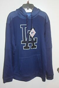 Los Angeles Dodgers Cut /& Sew MLB Hoodie rot