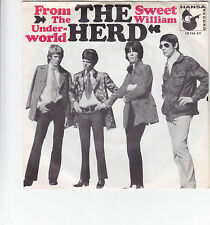 "Single 7"" The Herd ""From the Underworld/Sweet William"""