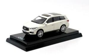 PAUDI 1/64 Alloy die casting car model Infiniti QX60 2017 Gift collection