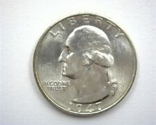 1947-S WASHINGTON SILVER 25 CENTS NEAR GEM UNCIRCULATED PROOFLIKE
