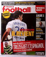 FRANCE FOOTBALL 17/09/2010; Trezeguet l'Espagnol/ St-Etienne/ Lens, Wallemme