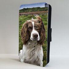 Springer Spaniel Dog Cute Floppy Ears FLIP PHONE CASE COVER for IPHONE SAMSUNG