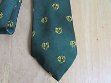 PROBUS Information Centre Green with P and Wreath Logo Tie