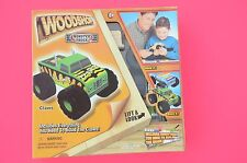 "Wood Shop Real Pine Wood Pieces ""Claws"" The Monster Truck Easy To Assemble NIB"