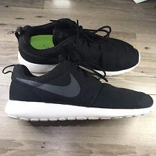 Nike Roshe Run Casual Running Shoe Black White 511881-010 Mens Size