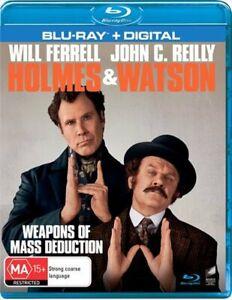 Holmes and Watson Blu-ray