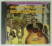 Great Instrumental Hits from Rock's Golden Years CD Various Artists
