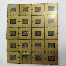 Lot of 20 Dotted Gold CPU LGA1366 Processors Scrap Recovery Precious Metals