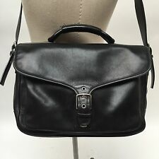 COACH CLASSIC LEATHER BRIEFCASE CROSS BODY BAG