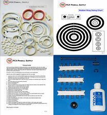 1979 Williams Gorgar Pinball Tune-up Kit - Includes Rubber Ring Kit!