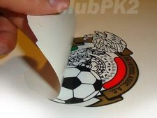 Soccer World Cup Mexico Full Color Inside Window Decal Sticker NEW !!!