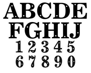 Door Letter - Door Number - Acrylic Black - White Digits Plaque House Door Sign