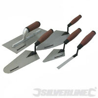 Soft Grip Bricklaying,  Plastering & Pointing Trowel Set. - 395016
