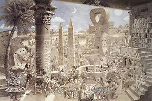 MYSTERY OF EGYPT - ART POSTER / PRINT (TOM MASSE)