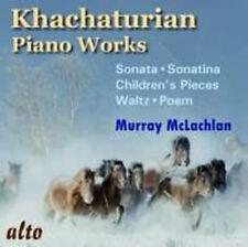 CD KHACHATURIAN PIANO TOCCATA TEN CHILDRENS PIECES POEM SONATINA SONATA WALTZ