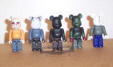 H.I.M. Heartagram Custom Be@rbricks - Set of 5 100% HIM bearbrick art toy metal
