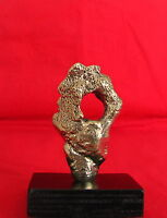 "Bronze ""Fragment in Style of a Portrait"" Decorative Sculpture Fine Art"