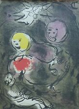 MARC CHAGALL BIBLE Prophet Daniel with the lions HAND NUMBERED LITHOGRAPH M142