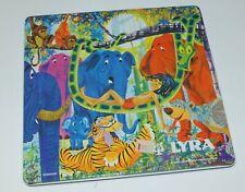 Vintage Lyra boite de crayon de couleur Le livre de la jungle GERMANY  neuf 1968