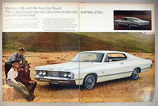 Mercury Park Lane 2-Page PRINT AD - 1967 ~~ 1968 model