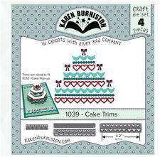 KB Riley- Karen Burniston Cutting Die Set ~ CAKE TRIMS Celebrate, Decorate ~1029