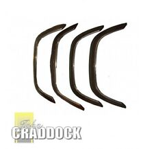 Land Rover Defender 90 110 Wheel  Arch Kit Matt Black Defender Set Of 4