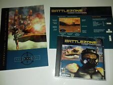 Battlezone II 2 Combat Commander PC CD build defend Attack Team was Combat Game!
