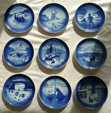Royal Copenhagen Dated/Signed Christmas Plates (9);1963-1971 +4 more