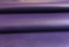 Genuine Lambskin Purple Leather Textured Hides Upholstery Craft Sheepskin F906-6