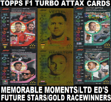 Topps Formula 1 Turbo Attax ☆ FOIL CARDS ☆ BUY 3 GET 1 FREE!  #141-181 (2020) F1
