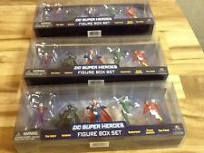 "2002-Now DC comics Figure Box Set Of 5 2014 3"" original unopen boys-girl 3in"