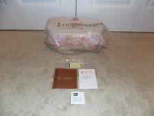 * Longaberger * 2008 Horizon of Hope Pink Ribbon Basket, Lid, Liner, & Protector