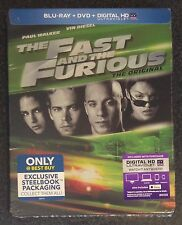 THE FAST AND THE FURIOUS Blu-Ray SteelBook Best Buy Exclusive Ltd Ed OOP & Rare!