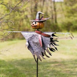 Halloween Scarecrow Ground Stake Outdoor Indoor Party Props Decoration D7S9