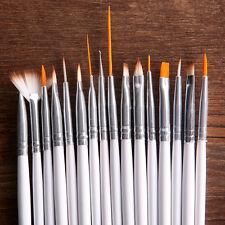 16 Stück/Set Neu Profi Nagel Kunst Pinsel Malerei Punktierung Maniküre