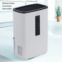 Portable Dehumidifier with UV Light for Home, Basement, A Room, Ultra-Quiet