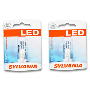 Sylvania SYLED Front Side Marker Light Bulb for Fiat 124 X-1 9 850 131 128 yr