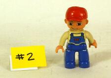 Vintage 1980's Lego Mini Figure Lot #2