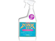 Zonk It! 35 Fly Mosquito Gnat Repelent KillsTicks 35Day Protection Horse 32oz