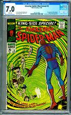 Amazing Spider-Man Annual # 5  CGC 7.0 W!  Origin of Peter Parker's Parents!