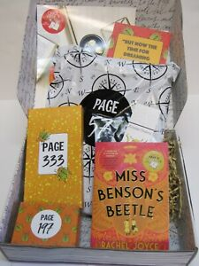 Once Upon a Book Club MISS BENSON'S BEETLE November 2020 Book and Gifts
